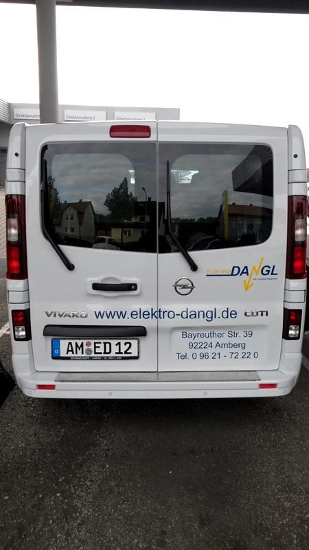 Fahrzeugbeklebung in Amberg